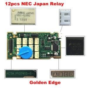 Image 5 - 전문 전체 칩 Lexia3 PP2000 최신 Diagbox V7.83 골든 에지 12pcs 릴레이 7pcs 옵토 커플러 Lexia PP2000 Lexia 3
