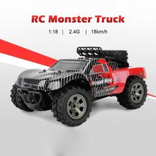 High Speed RC Car 2.4G 1/18 18km/h Drift RC Off-road Car Desert Truck Toy Wireless Remote Control Cars For Chidren Gift(China)