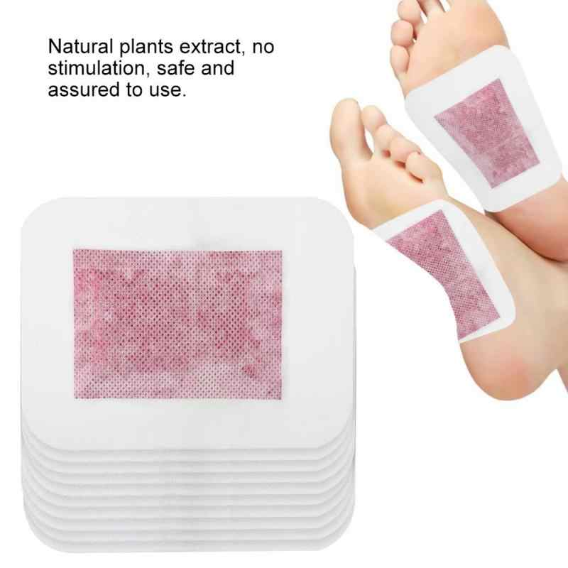 10pcs/Box Detox Foot Pad Improve Sleep  Slim Remove Toxin Adhesive  Care Foot Patch Rose