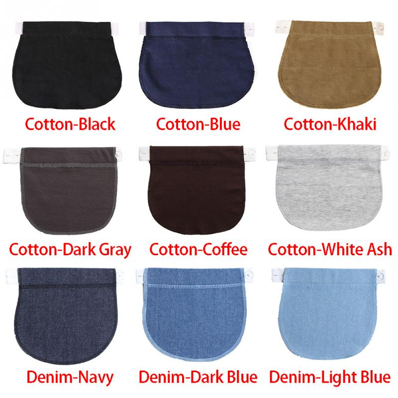 Maternity Waistband Elastic Extender Soft Pants Belt Extension Buckle Button Lengthening Pregnant Women Pregnancy Adjustable 3