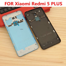 joliwow for Xiaomi Redmi 5 Plus Battery Back Cover Metal Rear Door Housing + Side Key for Redmi 5Plus Replacement Repair Spare for xiaomi redmi 6 battery back cover metal rear door housing side key for redmi6 replacement repair spare
