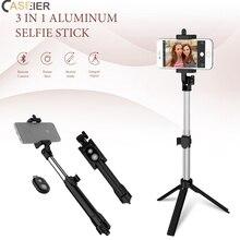 Caseier штатив bluetooth-монопод Стик для мобильного телефона Selfie ручной алюминиевая трость для iPhone X XR XS Max 8 7 6 Plus