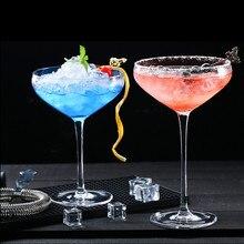 1 шт. бокал для коктейля в форме бабочки, бокал для шампанского, Европейский бессвинцовый хрустальный бокал, бокал для вина, контейнер для десерта, мороженого, домашний бокал, чашка
