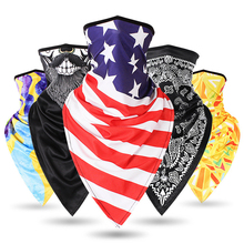Motorcycle Face Shield Sun Protection Mask Balaclava Colorful Scarf Outdoor Ride Bandanas Sport Motorbike Scarves Anti UV/Dust
