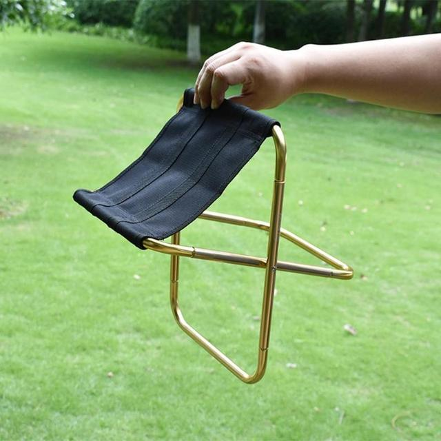Foldable Picnic Fishing Lightweight Aluminium Oxford Cloth Chair
