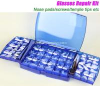 Optical Frames Eyewear Glasses Eyeglasses Screws Nose pads Nuts Washers Repair Took Kit