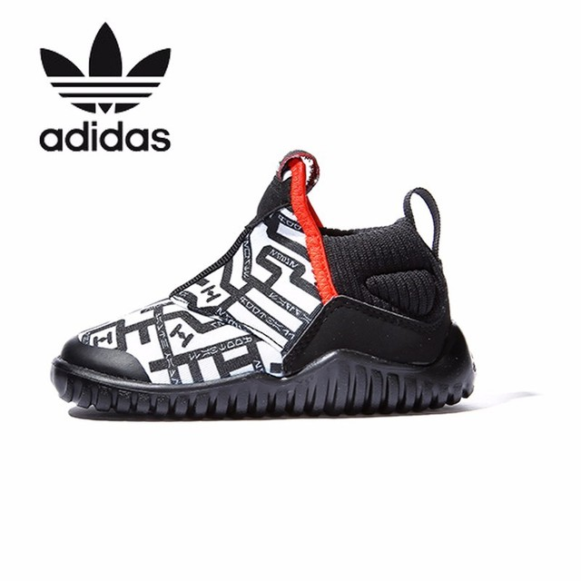 Adidas Kids Winter New Pattern Boy And Girl Sneakers Children Small  Hippocampus Casual Shoes AH2579 08a59a3e7250