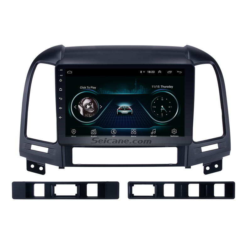 Seicane Car Radio For HYUNDAI SANTA FE 2005 2006 2007 2012 Tochscreen 9Android 8.1 2din GPS Stereo Multimedia Player Head Unit