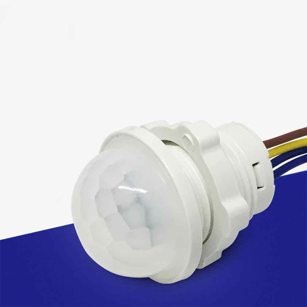 Светодиодный светильник PIR инфракрасный индукционный датчик человеческого тела время задержки Регулируемый режим детектор переключатель для дома светильник ing светодиодный светильник