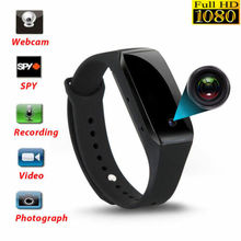 1080P Bracelet Smart Watch Wristband With Camera DVR Video R
