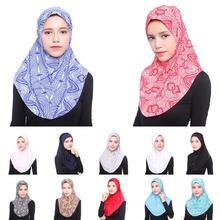 Vrouwen Moslim Viscose Lange Sjaal Hijab Islamitische Sjaals Arabische Shayla Wrap Sjaals Hoofddeksels Hoeden Gebed Hoed Volledige Cover Niquabs Amira