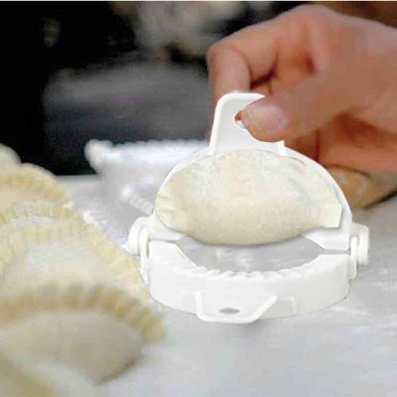 جديد جهاز صناعة زلابية العجين الصحافة زلابية فطيرة رافيولي قوالب اليد قرصة الزلابية مجلد الحلوى العفن الخبز المعجنات أدوات الأدوات