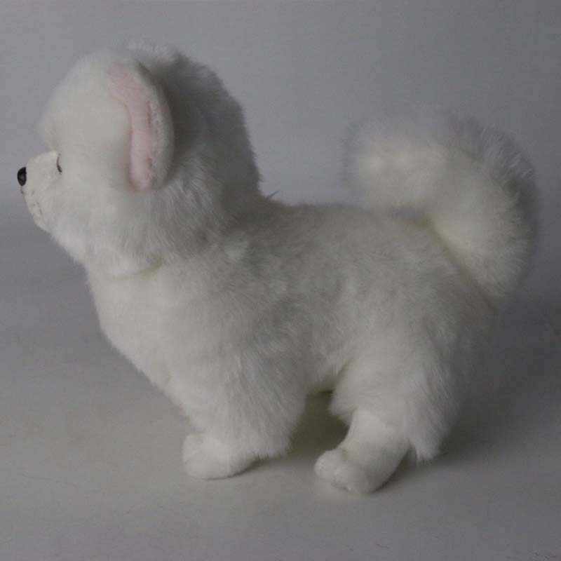 Bichon Frise Puppy Plush Toy Stuffed Animal Dog Cute