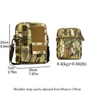Image 5 - Sac à dos tactique pour hommes, sacoche militaire Camo imperméable pour Sports de plein air voyage, sac à main sec de chasse