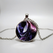 Venomous Guardian Glass Necklace men and women Jewelry Pendant DIY customized photos custom necklace