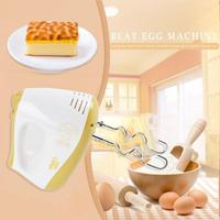 Electric Egg Beater Handheld Mini Household Food Blender Double Whisk Eggs Mixer Batter Kitchen Baking Tools Double head mixing