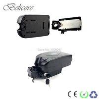 free shipping 24 volt folding bike battery 24v 22ah 23ah 26ah 28ah 30ah electric bike lithium ion battery with fast charger