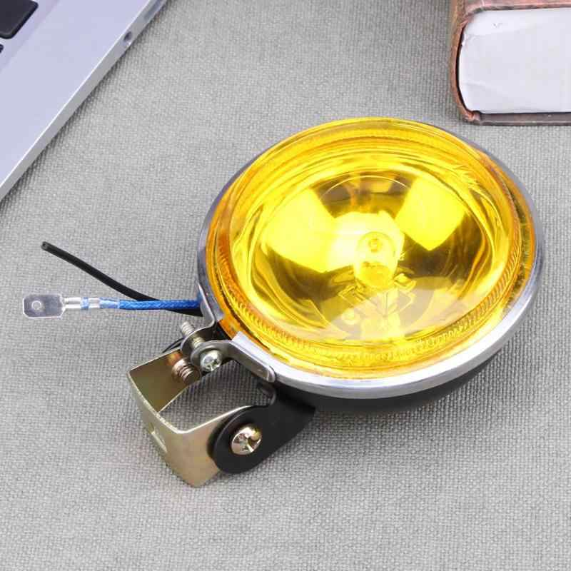 "12V 55W 3"" Round Car Fog Light Working Lamp Bulb Reversing Light Anti-fog Glass Automobiles Side Work Lights Accessories New"