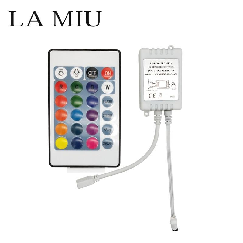Led Musik Ir-controller 20key Remote-sound Sensor Doppel Einzigen Für 2835 3528 5050 Rgb Led Streifen Beleuchtung Zubehör