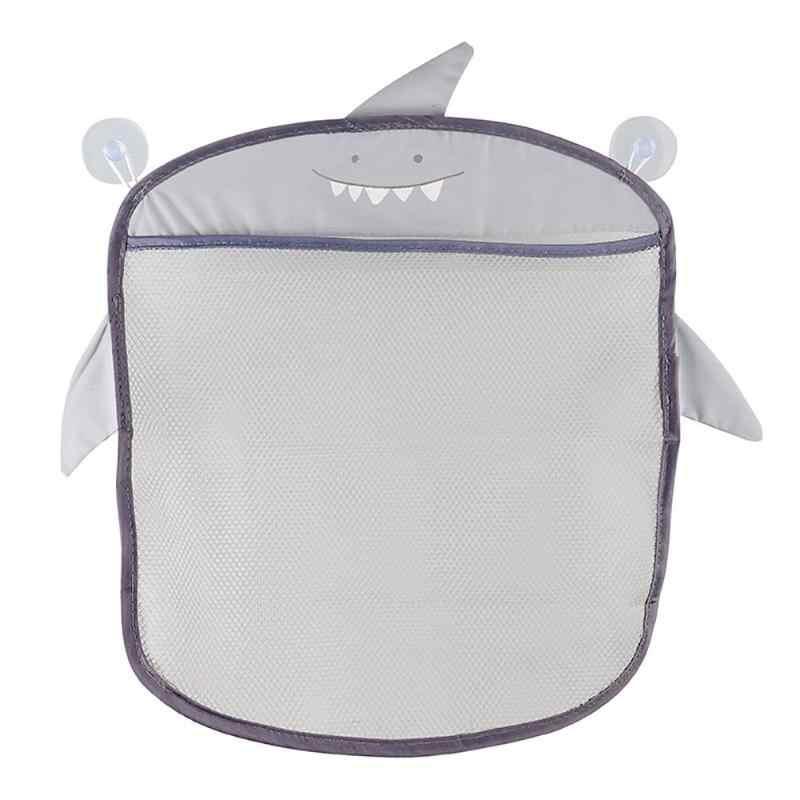 Cartoon łazienka kosz do przechowywania dla dzieci dla dzieci zabawki do kąpieli torba do zawieszenia organizator kosmetyki przezroczyste Cartoon Sucker wiszące siatki