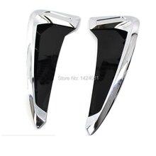 2 шт./компл. ABS автомобилей переднее крыло сторона, устанавливаемое на вентиляционное отверстие в салоне автомобиля крышка Накладка авто-Стайлинг для BMW X серии X5 акула жабры боковые вентиляционные Стикеры
