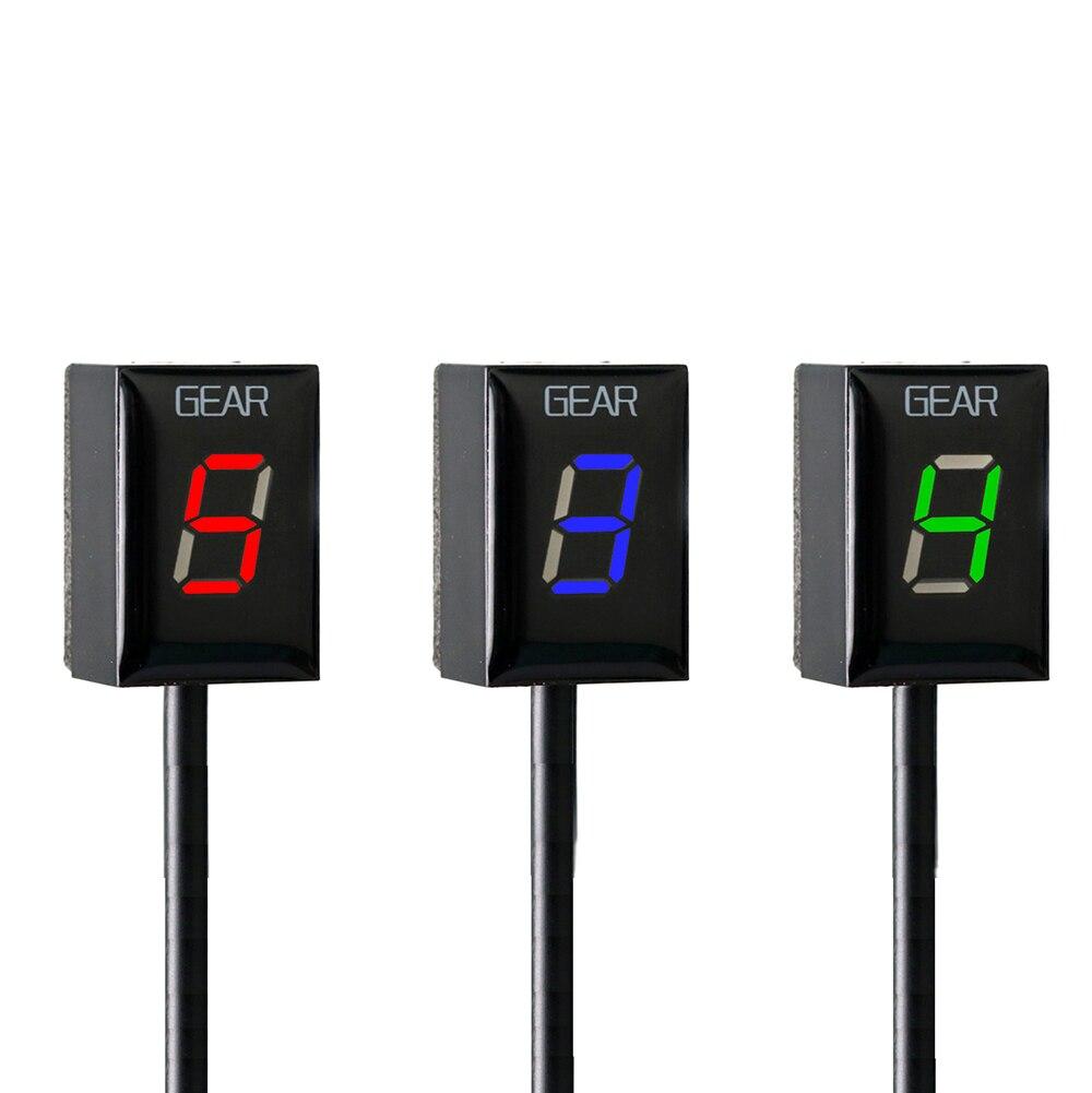 For Honda CB500X VFR 800 CB1000R CB400SF CBR650F CB650F Motorcycle 1-6 Level Ecu Plug Mount Speed Gear Display Indicator