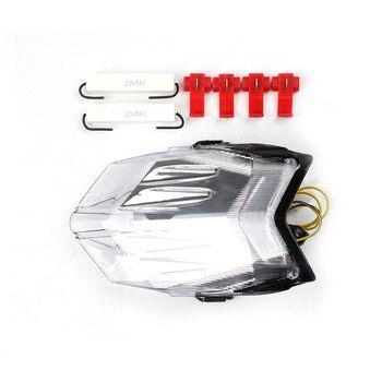 LED Rear Tail Light Integrated Turn Signal For MV AGUSTA F3 2011-2015/Brutala 675 800 2013-2015 Clear