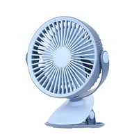 Usb Rechargeable Desktop Clip Fan Student Learning Multi Functional Dormitory Portable Fan