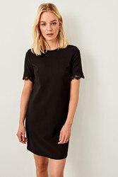 Trendyol Black Lace Detail Dress TWOSS19BB0150