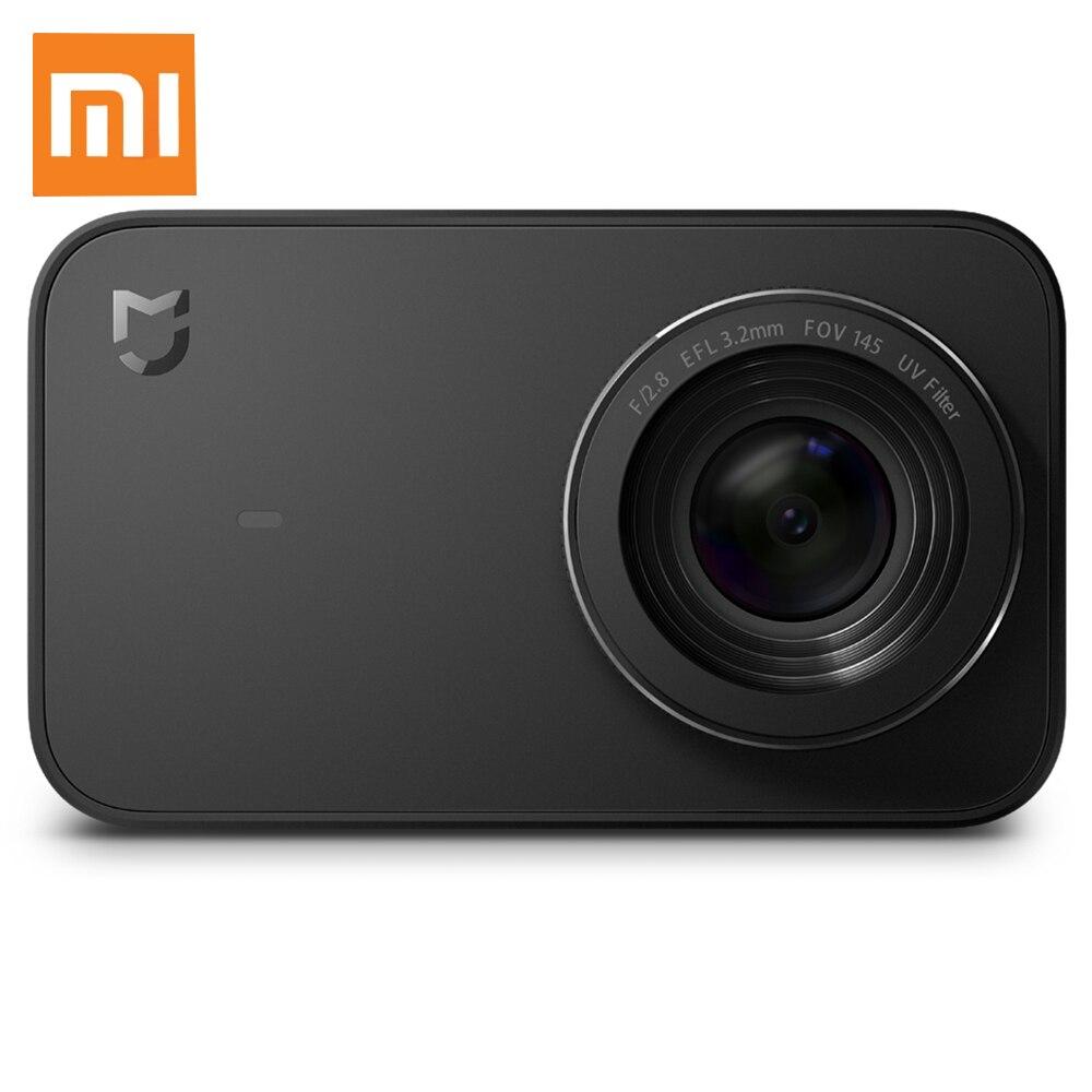 Xiaomi Mijia Caméra Mini 4 k 30fps D'action Caméra 145 Degrés Grand Angle Six-axe EIS avec 2.4 pouce écran tactile 7 Lentille En Verre