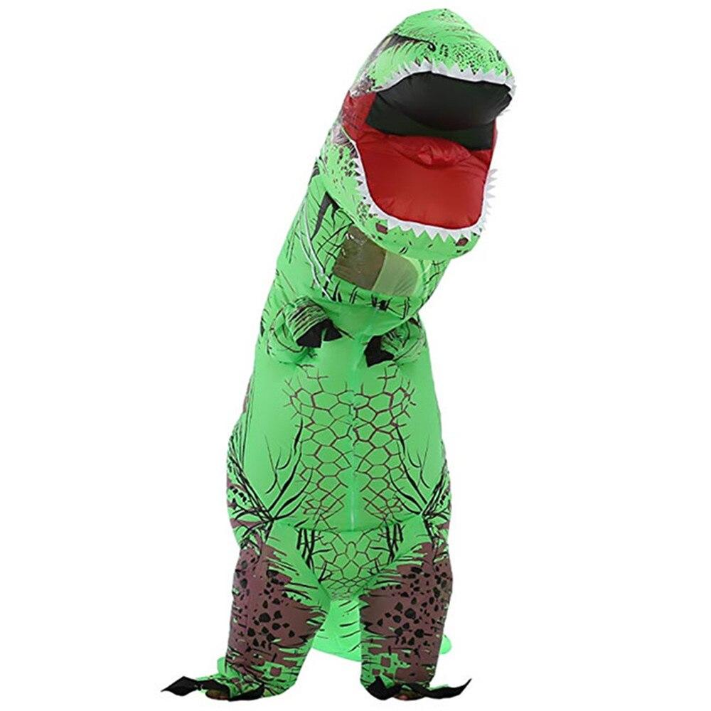 Fun Halloween Dinosaur Inflatable Costume Adult Cosplay Performance Props Suitable For Halloween Masquerade Performance Costumes стоимость