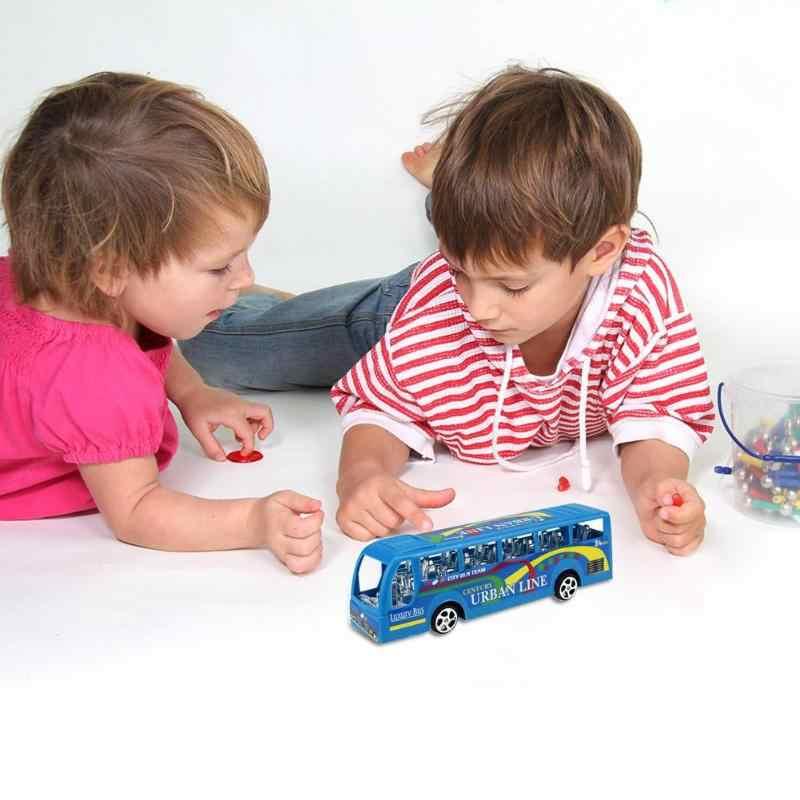 Plastik Mainan Mobil Anak Balap Menarik Kembali Mobil Truk Kendaraan Anak Hadiah Mainan Kendaraan untuk Anak-anak Pendidikan Hadiah Natal