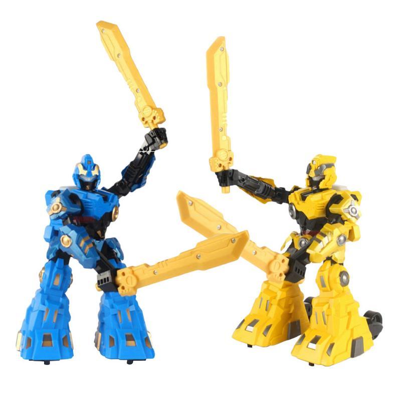 Mode RC Bataille Robot2PCS 2.4g Corps Sensation Télécommande Bataille Lutte Robot Combinaison Enfants Cadeau D'anniversaire