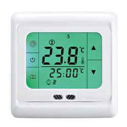 BYC07.H3 терморегулятор сенсорный экран нагревательный термостат для теплого пола, электрическая система отопления регулятор температуры