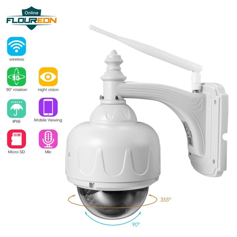 FLOUREON 1 3MP 960P WiFi Wireless CCTV Camera IP66 Outdoor Ceiling Dome Camera Security Surveillance Camera
