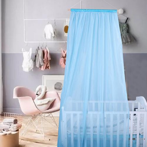 Chiffon Bed Curtain Baby Crib Canopy
