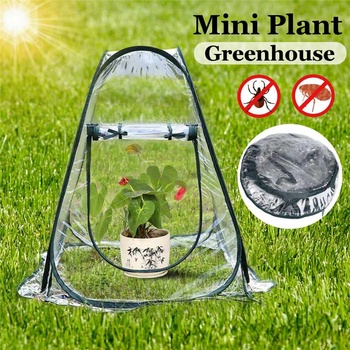 Serre de jardin Portable pliant Mini serres transparentes PVC salle ...
