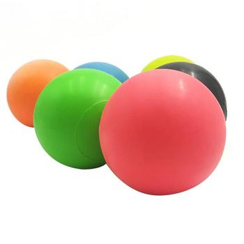Fitness Massage Ball TPE Rubber Hockey Lacrosse Ball 63mm Trigger Point Relaxation Self Massage Free Shipping