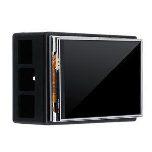 Image 2 - Dla Raspberry Pi 3 kolorowy ekran TFT Tou ch wyświetlacz LCD 3.5 cala + etui z ABS + pióro dotykowe Monitor LCD zestaw dla Raspberry Pi