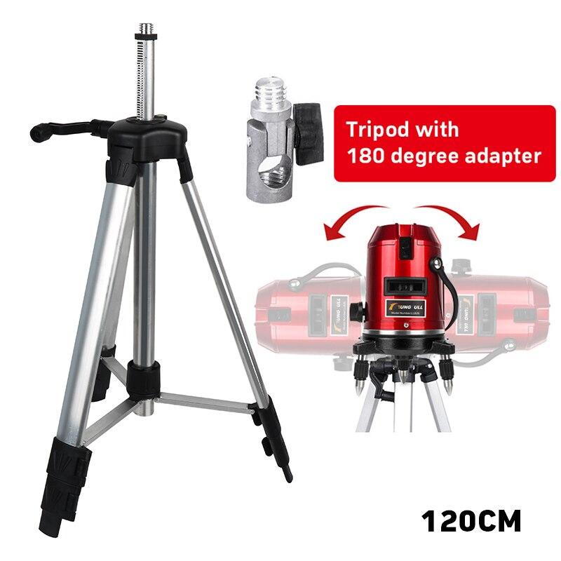 Hauteur maximale 1200mm 5/8 support ou trépied en aluminium revêtu de fil de haute qualité pour laser rotatif 360