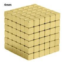 4 мм 216 шт. магнитные блоки игрушки Магнитный блок Волшебная сильная Строительная игрушка креативные неодимовые магниты Магнитные подарки