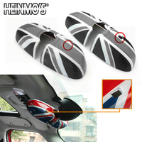 For MINI Cooper S F60 F56 F55 F54 Countryman Clubman For MINI Cooper Car Styling Rear View Rearview Mirror Stickers Accessories