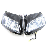KEMiMOTO Motorcycle Front lights Headlight Head Lamp For Honda CBR 600RR CBR600RR 2007 2008 2009 2010 2011 CBR600 600 RR