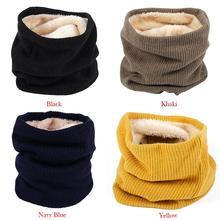 Уличные зимние утолщенные теплые флисовые шейные теплые велосипедные шарфы для мужчин Bufanda лыжный альпинистский шейный шарф