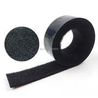 25.4mm x 10M Black Hook and Loop Self Adhesive Fastener Strong Tape 3M adhesive SJ3571N&SJ3572N