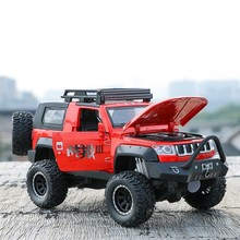 лучшая цена Enjoy Diecast Model 1:32 Off-road Vehicles SUV Absorber Pull Back Car Toy For Children Collection Dropshipping HotWheeling