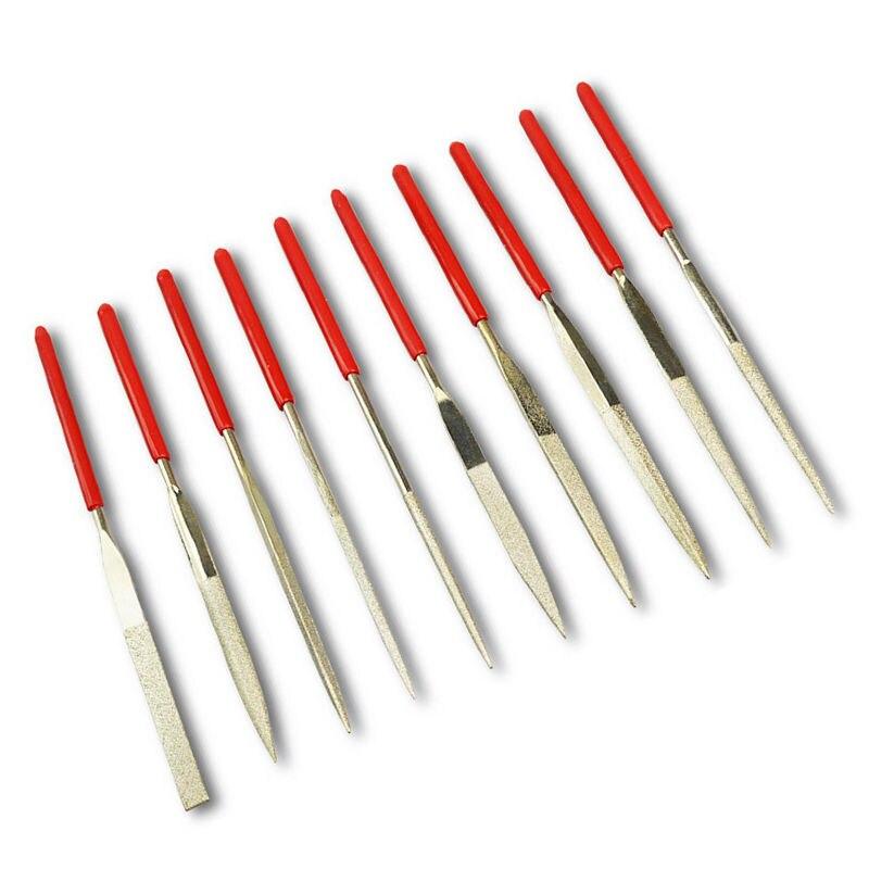 Handwerkzeuge Werkzeuge 10 Teile/satz Gitarre Neck Nut Schleifen Dateien 10 Arten Metall Gitarre Reparatur Datei Werkzeug Attraktive Designs;