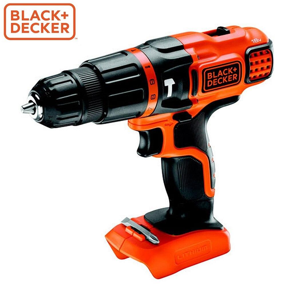 Screwdriver Black+Decker BDCH188N-XJ screwdrivers drill repair hand tools home repairs screwdriver black decker ld12sp ru screwdrivers drill repair hand tools home repairs