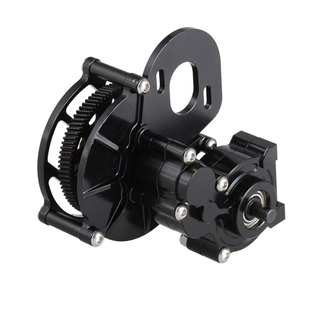 Boîte de vitesses centrale de Transmission en métal avec pièces de moteur à engrenages accessoires pour 1/10 télécommande RC voiture roche chenille axiale SCX10 AX10