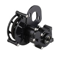 Metal Transmission Center Gearbox with Gear Motor Parts Accessories for 1/10 Remote Control RC Car Rock Crawler Axial SCX10 AX10